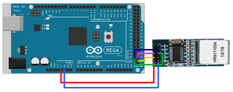 arduino-connect-enc28j60